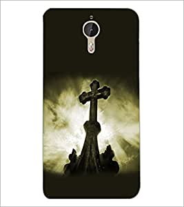 PrintDhaba Cross D-2179 Back Case Cover for LETV (LE ECO) LE 1 PRO (Multi-Coloured)