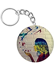 Beautiful Printing | ShopTwiz Printed Circle Key Ring