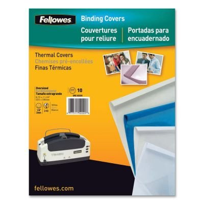 Fellowes 52223 Covers-thermal-blue 1/4in 10pk Dds Must Be Or