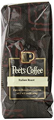 Peet's Coffee & Tea Italian Roast Whole Bean Coffee, 1 Pound