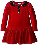 Hartstrings Little Girls' Stretch Velvet Dress