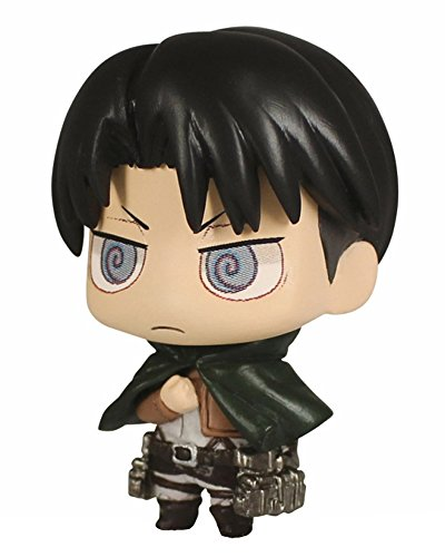 Takara Tomy Attack on Titan CHIMI Chibi Chara Mascot Part 3 - Levi