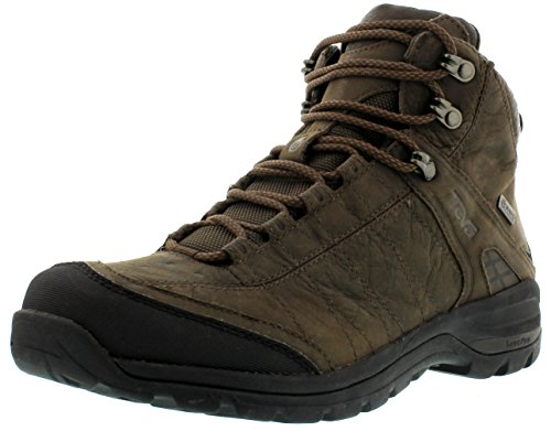 Teva - Scarpe sportive - Camminata Kimtah Mid eVent Leather M's, Uomo, marrone scuro (Braun (turkish coffee 914)), 42