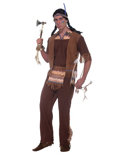 Men's Native American Brave Adult Costume