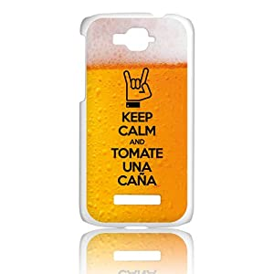 Amazon.com: BeCool Alcatel One Touch Pop C7 Cover Keep Calm Beer