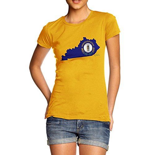 TWISTED ENVY -  T-shirt - Maniche corte  - Donna giallo X-Large