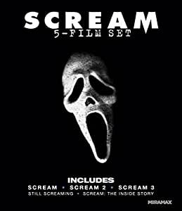 Scream: Five-Film Set (Scream / Scream 2 / Scream 3 / Still Screaming: The Ultimate Scary Movie Retrospective / Scream: The Inside Story) [Blu-ray]