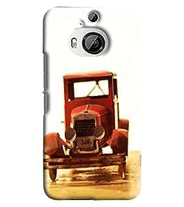 Blue Throat Vintage Car Model Printed Designer Back Cover/ Case For HTC One M9 Plus