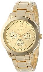 Breda Women's 2359-gold Ana Monochromatic Casual Metal Watch