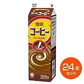 雪印メグミルク 雪印コーヒー 1000ml × 24本 コーヒー牛乳 クール便でお届け