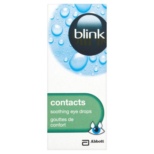 Blink Contacts Multi-Dose Soothing Eyes Drops 10 ml