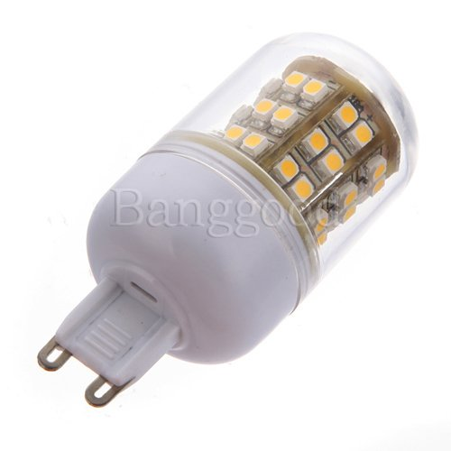 G9 48 Led 3528 Smd Warm Light Spot Lampe Ampoule #F