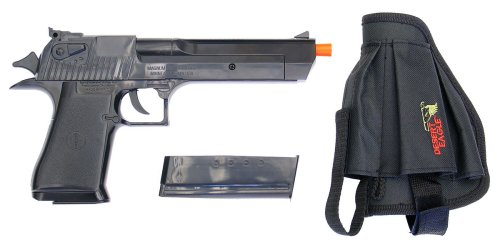 Soft Air Desert Eagle High Impact Spring Powered Airsoft Pistol Kit with Holster