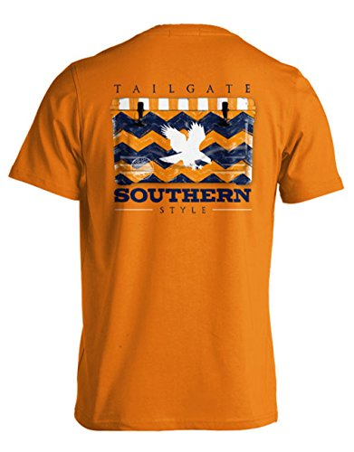 College Tailgate - Eagle - Chevron Cooler - Medium - T-Shirt front-502590