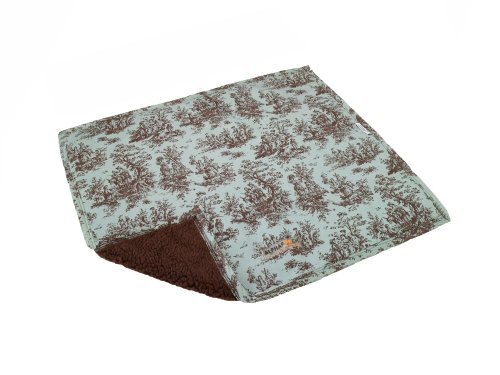 AlphaPooch Sleeper Pet Blanket, Celedone Toile