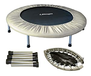 Ultega 38-Inch Mini Jumper Trampoline with Carrying Case