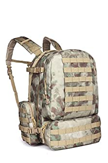 buy Outgear® Military Molle Assault 3-Days Large Tactical Backpack With Grenade Survival Kit, Dark A-Tacs