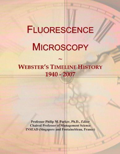 Fluorescence Microscopy: Webster'S Timeline History, 1940 - 2007