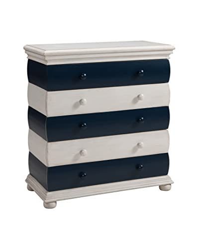 Coast to Coast Striped 3-Drawer Chest