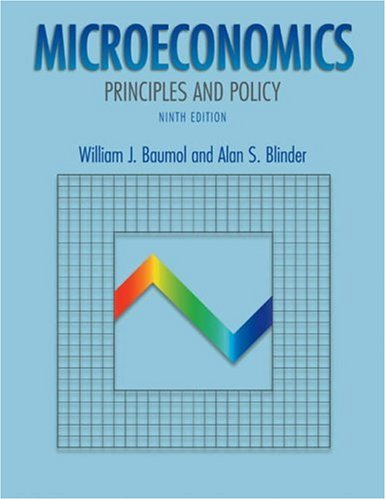 Microeconomics: Principles and Policy with Xtra! Student CD-ROM and InfoTrac College Edition PDF