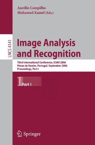 Image Analysis and Recognition: Third International Conference, ICIAR 2006, Póvoa de Varzim, Portugal, September 18-20,