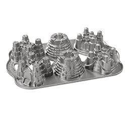 Nordic Ware Pro Cast Castles Cakelette Pan