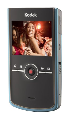 Kodak Zi8 HD Pocket Video Camera - Aqua Blue