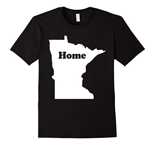 Minnesota State My Home Map  T-Shirt