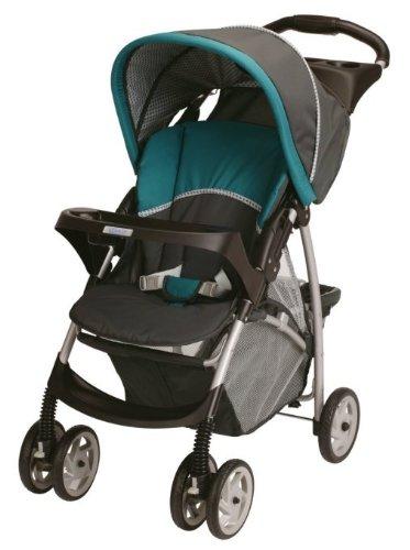 graco literider lightweight folding baby stroller w car. Black Bedroom Furniture Sets. Home Design Ideas