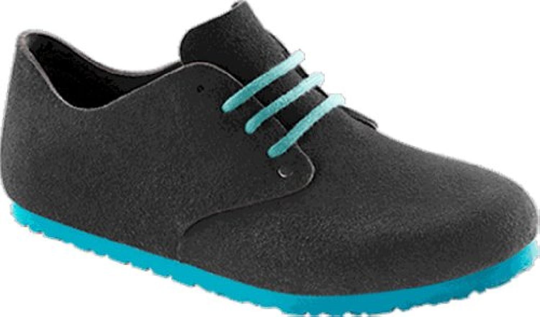 Birkenstock Shoes ''Maine'' from Leather in Velvet Grey 44.0 EU N