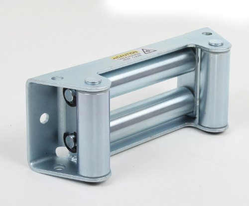 New Smittybilt 97281-47 Zinc Plated Winch 4-Way Roller Fairlead