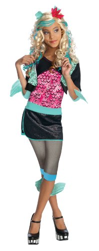 Monster High - Lagoona (Blue) Child Costume Size 8-10 Medium