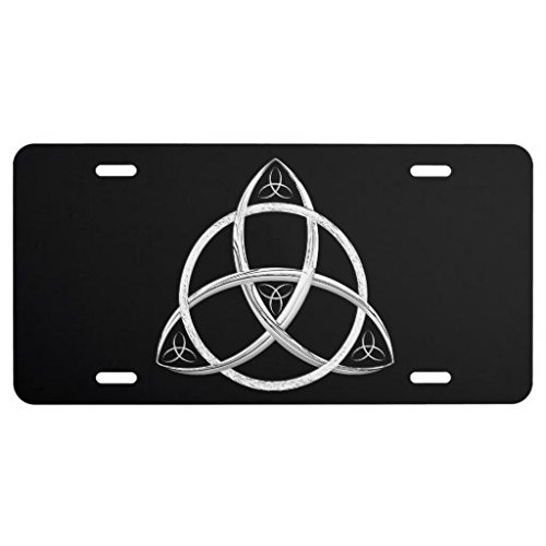 Lucky Novelty Metal Celtic Trinity Knot Grommets License Plate 6 By 12 Inch (Celtic Knot Bracket compare prices)