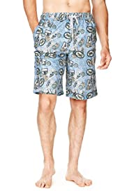 North Coast Postcard Print Quick Dry Swim Shorts [T28-7848N-S]|F20F