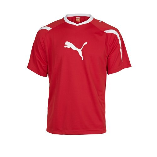 Puma Power Cat 5.10 T-Shirt rot / weiß, XXXL - 60/62