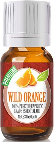 Wild Orange 100% Pure, Best Therapeutic Grade Essential Oil - 10ml (Wild Orange Essential Oil compare prices)