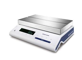Mettler Toledo MS15KLIPE NewClassic Precision Balance, 15 kg Capacity, 2 g Readability