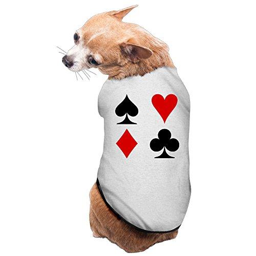 LAS VEGAS Playing CARDS Dog Costume Puppy Jackets (Costumes Vegas)