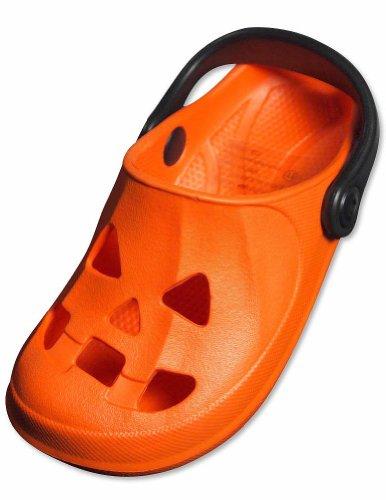 Private Label - Toddler Clogs, Orange, Black 29199-8Mustoddler front-172635
