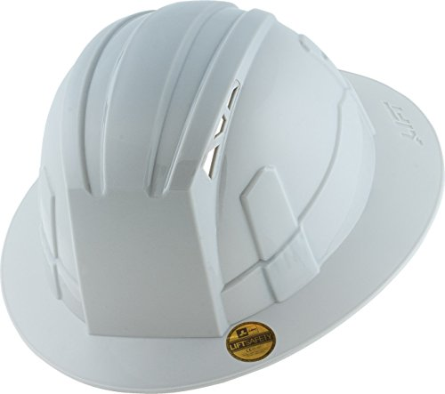 LIFT Safety Vantis VS Standard Brim Hard Hat (White, One Size) (Adjustable Hard Hat Insert compare prices)