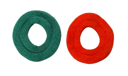 Road Power 989 Anti-Corrosion Fiber Washers, 2-Pack, 6 and 12-Volt