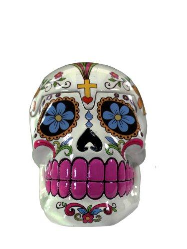 sugar-skull-white-box-featuring-dia-de-los-muertos-flower-design