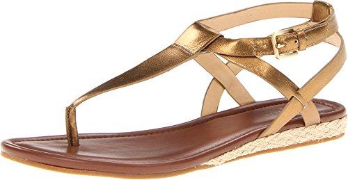 Cole Haan Women's Grove Thong Sandal,Bronze Metallic,10 B US