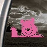 WINNIE POOH DISNEY Pink Decal Car Truck Window Pink Sticker
