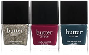 butter LONDON Bespoke Trio Nail Polish, Higgledy Piggledy, 1.2 Ounce