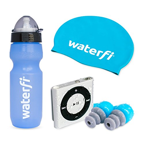 waterfi-swim-kit-deluxe-featuring-the-platinumx-waterproofed-ipod-shuffle-waterproof-short-cord-head