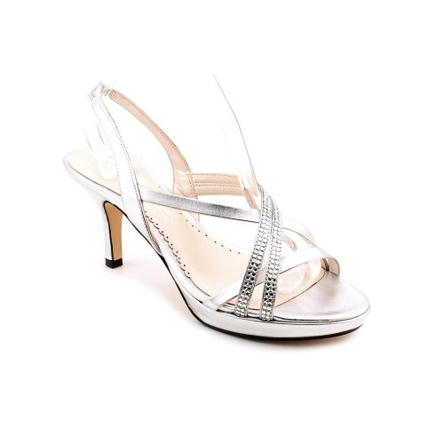 Caparros Women'S Yara Platform Sandal,Silver,7.5 M Us front-153869