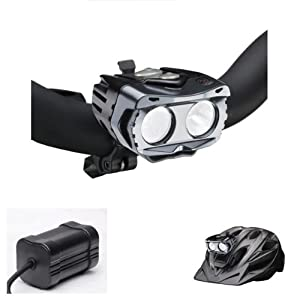 Amazon.com: Cygolite Centauri-1000 Double H.b. Led System With Frame Mount Li-ion Battery: Sports & Outdoors