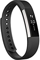 Fitbit Alta Fitness Tracker, Large (Silver/Black)