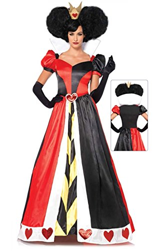 Queen Of Hearts Costume Villains by Leg Avenue 85326